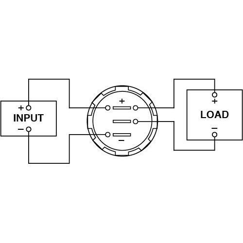 led power meter auto electrical wiring diagramled digital volt current meter p0671 volts and amps 6