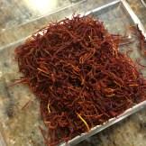 Saffron in a container