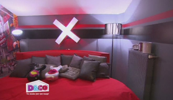 deco chambre ado noir et rouge - visuel #4