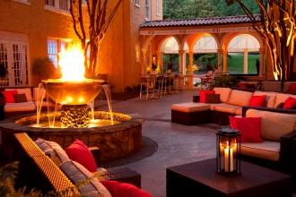 Artmore Hotel's Courtyard