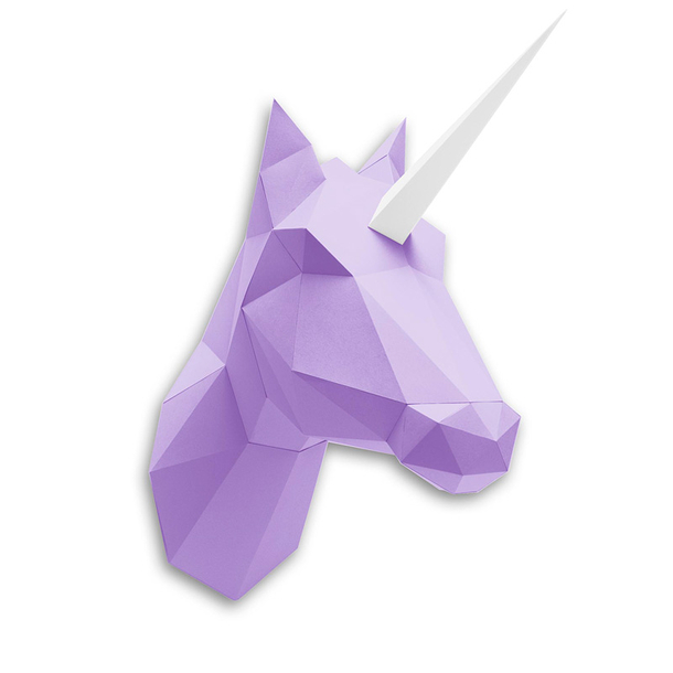 Paper Unicorn Kit - Purple Boutiques de Musées