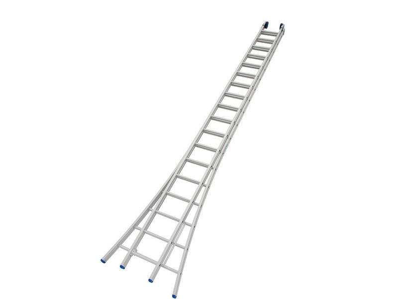 Ladder Alu 2 Delig 2 X 18 Sporten Kopen Bouwplaats