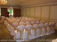 Gold Chair Covers with Sash_Other dresses_dressesss