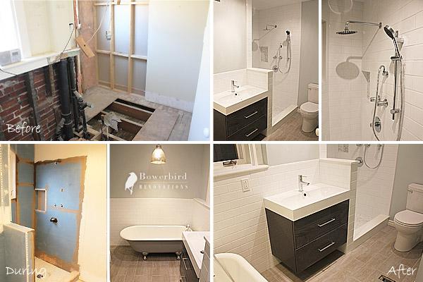 Bowerbird renovations a bathroom renovation project in