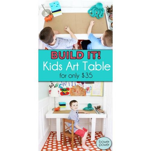 Medium Crop Of Kids Art Table