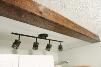 How to DIY A Faux Wooden Ceiling Beam - Bower Power