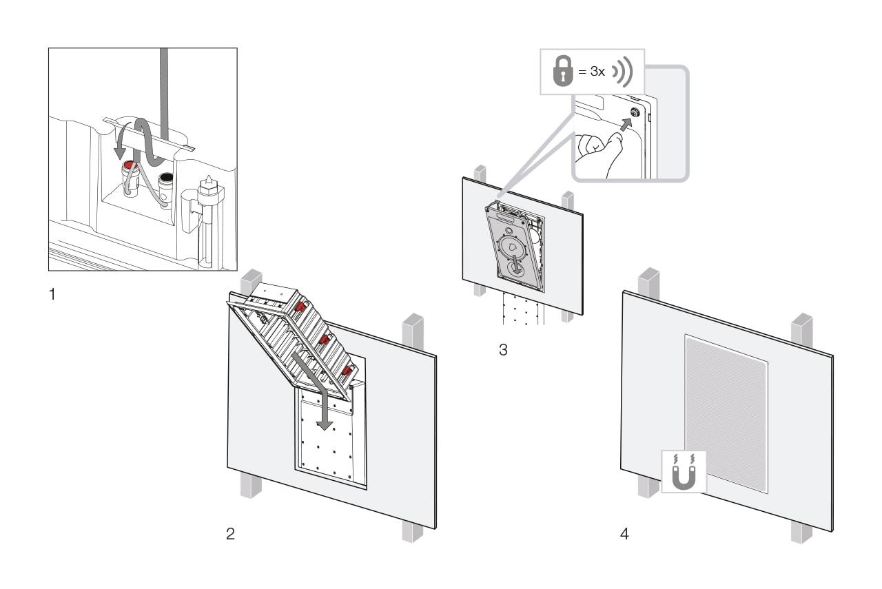 inwall speaker installation