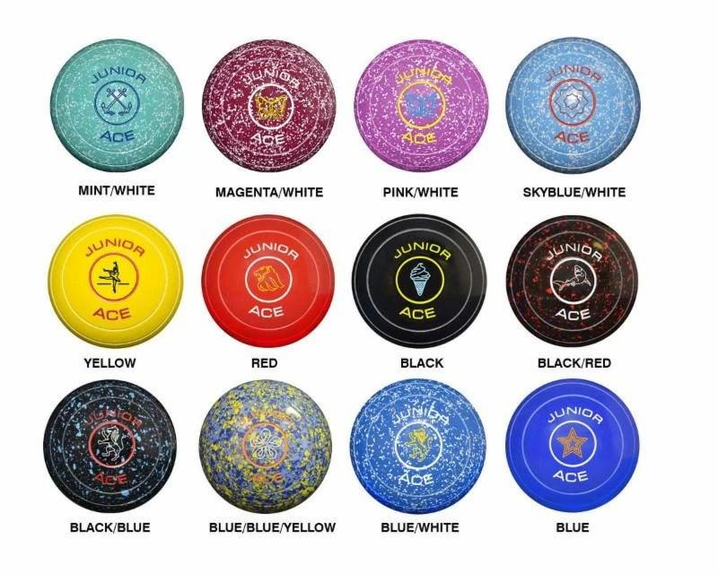 Ace Junior Coloured Bowl Thomas Taylor Bowls Bowlamania