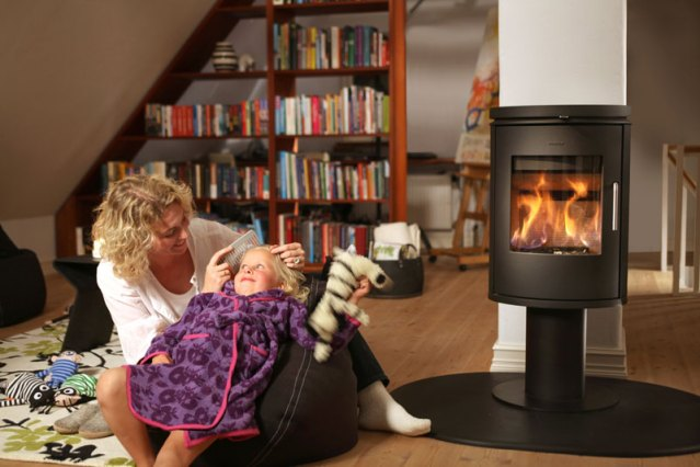 Four reasons to install a wood-burning stove