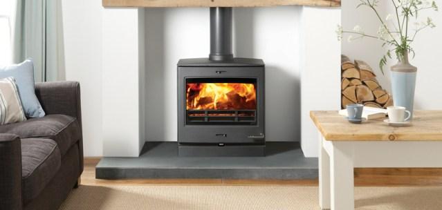 Yeoman CL8 wood-burning