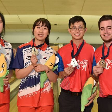 United States, Korea win Doubles at 2016 World Youth Championships