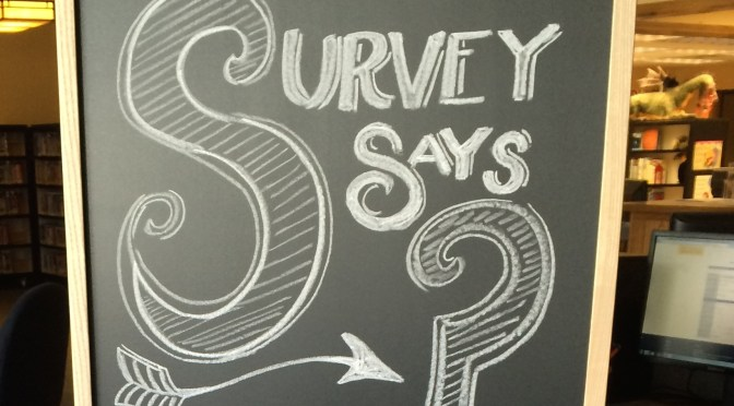 Take the 2015 Community Library Survey HERE