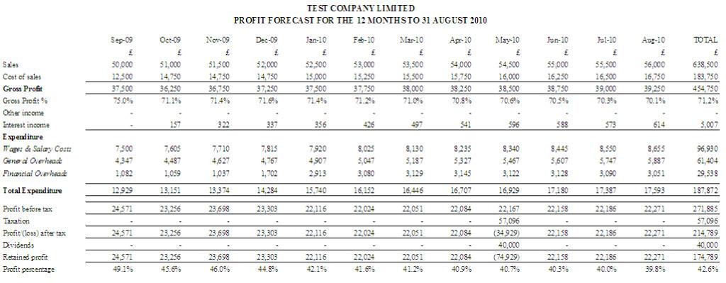 profit and loss report sample node2002-cvresumepaasprovider - profit and loss report example