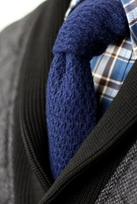 NEW Skinny Cashmere Knit Ties by CANTUCCI