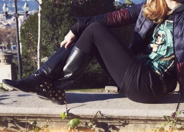 gucci babuska babouska boots flats black noir bottes lady gaga shirt comptoir des cotonniers uniqlo mlle plume_effected-001