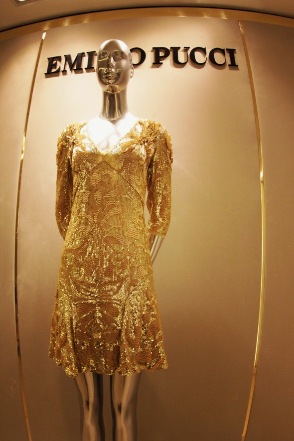 emilio pucci robe gold dress or 2013 harrods_effected