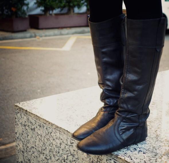 bottes jonak cuir noir _effected