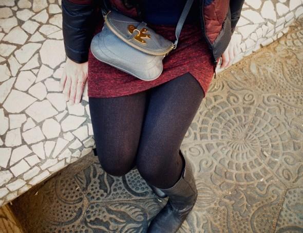 --robe dress vestido zara wrapped drapée hiver winter 2013 trf trafaluc petit bateau sweater pull comptoir des cotonniers mademoiselle mlle plume doudoune_effected-001