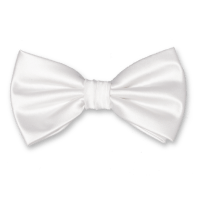 White bow ties