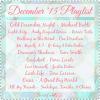 December '15 Playlist