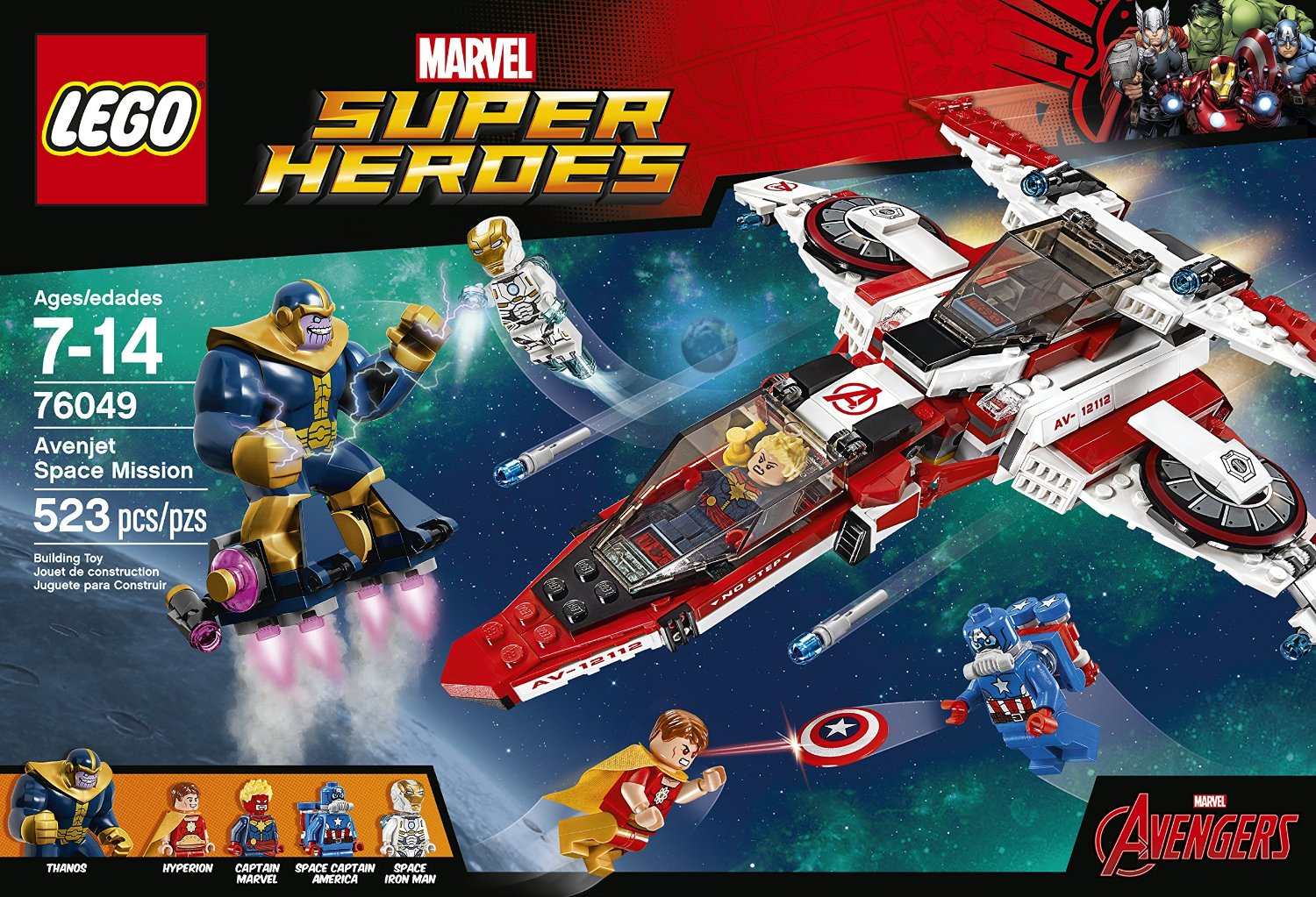 Shopping For Lego Super Heroes Avenjet Space Mission 76049
