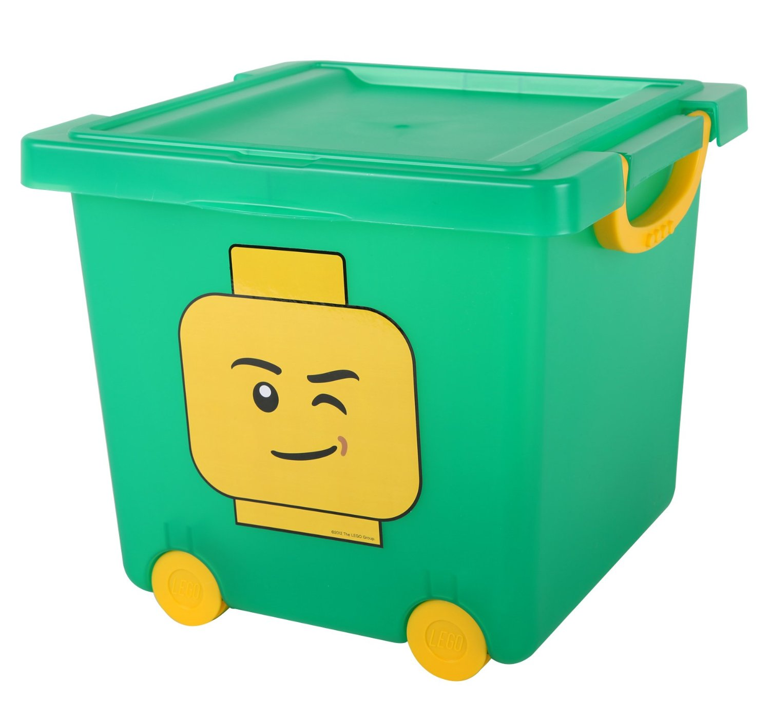 Shopping For Iris Lego Square Stacking Basket With Lid And
