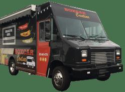 Debonair Boxcar Food Truckis Ready To Roll Boxcar Cantina Food Truck Food Truck Rentals Near Me Food Truck Rental Space