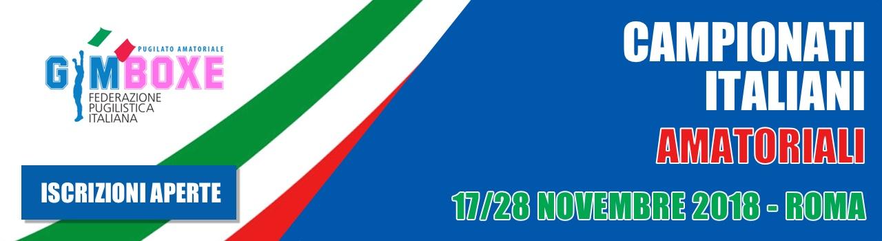 Campionati Italiani di Gym Boxe – Open  17/18 Novembre 2018 (Roma)