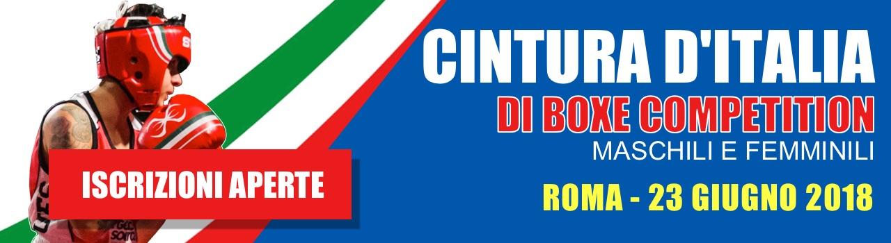 Gym Boxe Cintura d'Italia di Boxe Competition