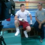 9 oct 2013 Rocky Martinez training and pre weigh in for Mikey Garcia 2