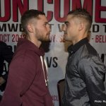 Carl Frampton press Conference at The Europa Hotel, Belfast before his fight against Jeromy Parodi on Saturday Night at The Odyssey
