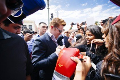 photo: saul alvarez erislandy lara
