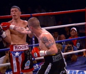 Burns vs. Moses  ricky burns paulus moses