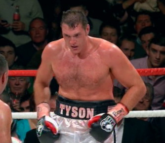 British Boxing  tyson fury
