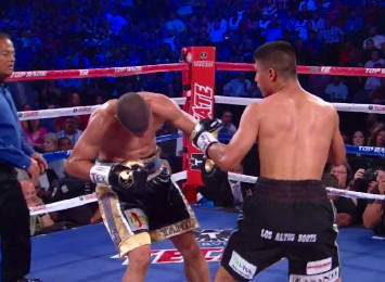 photo: roman martinez mikey garcia