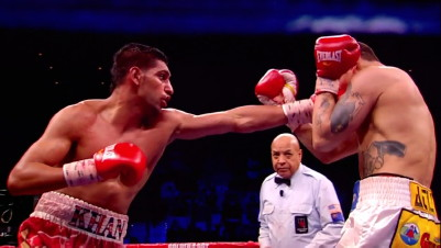 Khan Peterson Khan vs. Peterson  lamont peterson floyd mayweather jr amir khan
