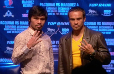 photo: manny pacquiao juan manuel marquez floyd mayweather jr