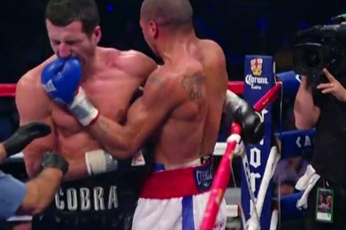 photo: mikkel kessler carl froch andre ward