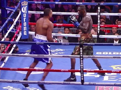 The Bronze Bomber Malik Scott  deontay wilder