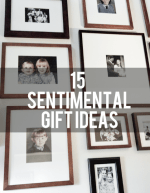 Sentimental Gift Ideas