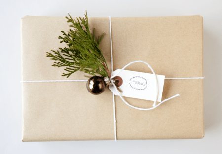 Boxwood Clippings Blog Archive Gift Wrap Brown Paper