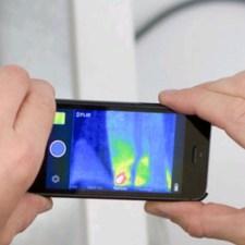 獲物の発見・追跡に!低価格なスマホ接続式の赤外線サーモカメラ