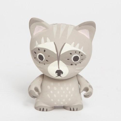 Raccoon Toy Figure by Susie Ghahremani / boygirlparty.com