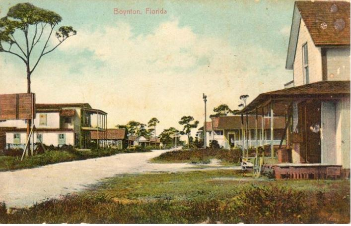 Downtown Boynton, 1910