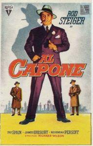 Al Capone 1959 Movie Poster