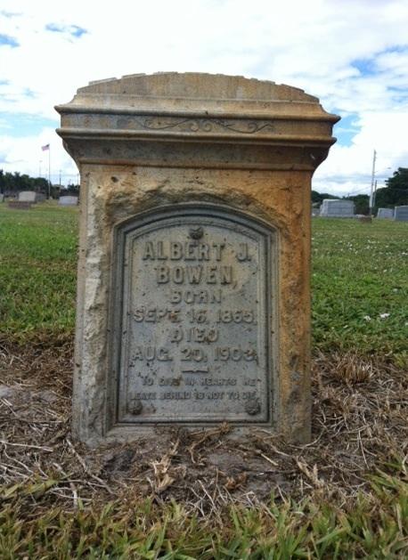 Albert P. Bowen - 1865-1903