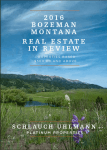 Bozeman Real Estate Report 2016