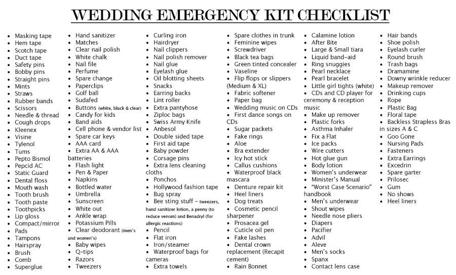 Wedding Checklist Free Wedding Checklist Template Wedding - wedding checklist template