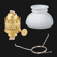 Antique Oil Lamp Parts and Accessories | B&P Lamp Supply