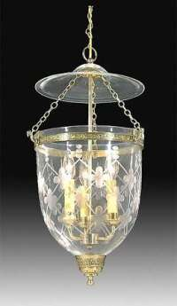 19th Century Hall Lantern with Lattice design 69535B | B&P ...